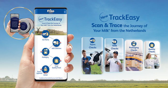 dutch lady track easy